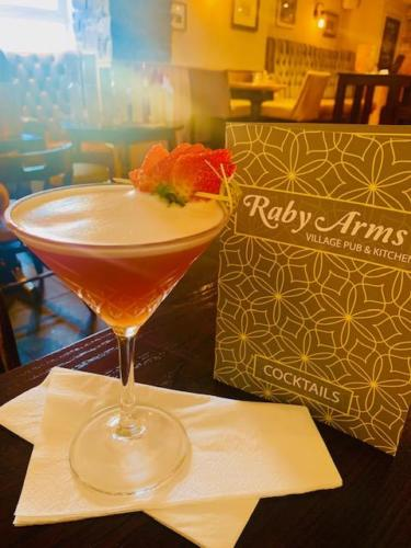 Raby Arms Martini